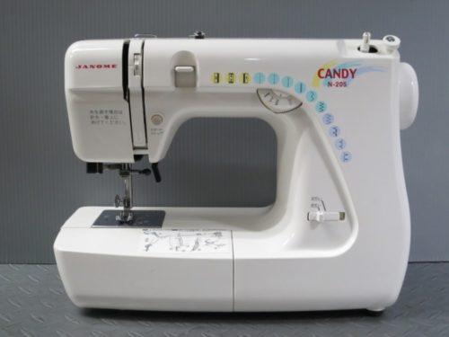 ジャノメミシン修理【CYANDY N-205】岐阜県よりご依頼。