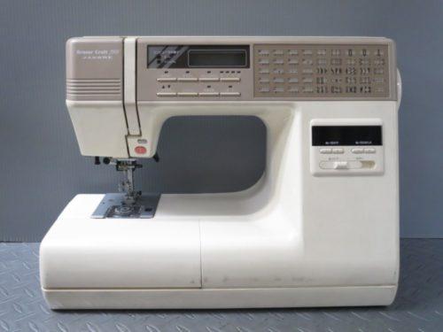 ジャノメミシン修理【Sensor Craft 7500】静岡県よりご依頼。