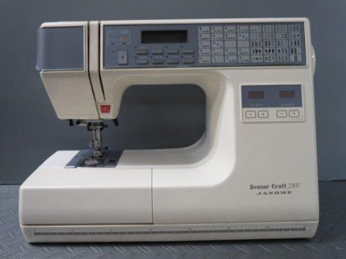 ジャノメミシン修理【Sensor Craft 7300】岐阜県よりご依頼。