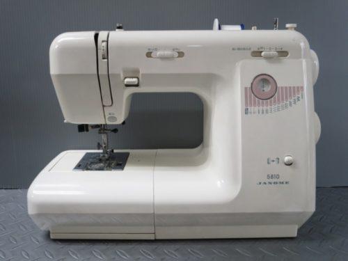 ジャノメミシン修理【5810(751型)】愛知県よりご依頼。