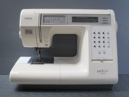 ブラザーミシン修理【LeMIEUX 7000】愛知県よりご依頼。