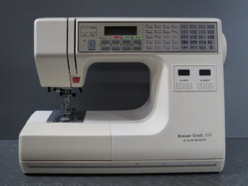 ジャノメミシン修理【SensorCraft7000】愛知県よりご依頼。