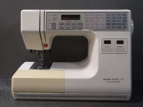ジャノメミシン修理【センサークラフト】北海道よりご依頼。
