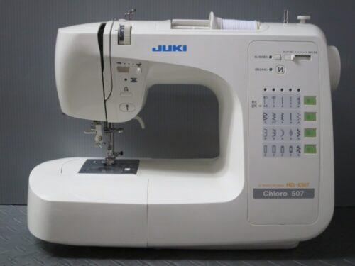 JUKIミシン修理【Chloro 507】神奈川県よりご依頼。